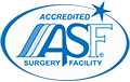 Advanced Hair Restoration at Contour Dermatology is a certified surgical suite, certified by the American Association for Accreditation of Ambulatory Surgery Facilities